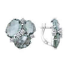 <b>Серьги с кварцем из</b> серебра SOKOLOV – купить в официальном ...