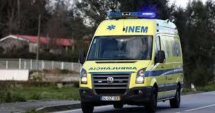 Despiste de motociclo provoca ferido grave em Vila Nova da Barquinha
