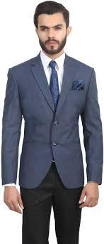 ManQ Solid <b>Single Breasted</b> Formal, Wedding <b>Men</b> Blazer - Buy ...