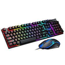 <b>T</b>-<b>wolf TF200 keyboard</b> + ergonomic mouse – GamerZhub