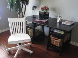 varnished sclupture wood desk black desk white home office