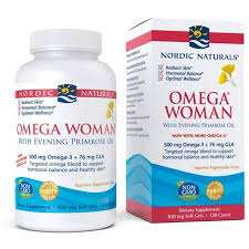 NORDIC NATURALS - <b>OMEGA WOMAN WITH EVENING</b> ...