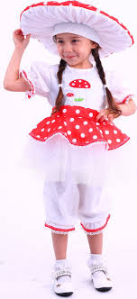 <b>Карнавальный костюм Мухомор</b> платье, панталоны, шапка ...