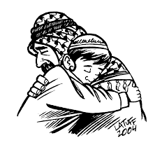 this picture of a young jewish boy hugging a muslim man shows that young jewish jewish boy religion age people forgive boy hugging muslim man kite runner things matter forgiveness