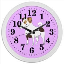 """Часы для офиса c особенными принтами """"Музыка"""" - <b>Printio</b>"""