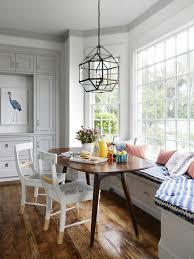 kitchen banquette idea bay window seat