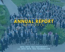 annual report by zeta beta tau fraternity issuu