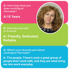 parmalat linkedin we sat down dina to ask three questions about herself and life at parmalat