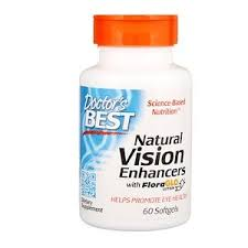 Doctor's Best, <b>Natural Vision Enhancers with</b> FloraGlo Lutein, 60 ...