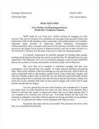 examples of an essay paper examples essay papers  metapod my doctor says resume example of a reaction paper