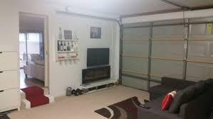 garage conversion ideas living