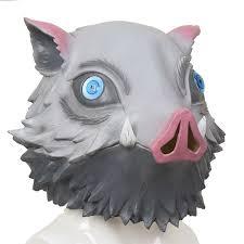 Ghost Blade <b>Mask</b> Halloween Christmas Boar Head Cover ...