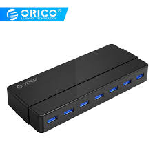<b>ORICO</b> H4928/H7928 USB3.0 <b>4/7 Port</b> USB3.0 Desktop HUB with ...