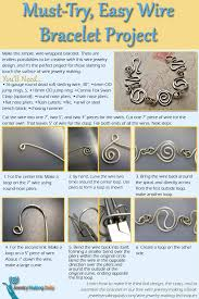 how to make wire jewelry the right way wire bracelets interweave learn how to make wire jewelry this wire jewelry making project including wire bracelets