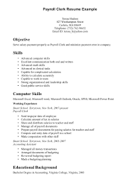 cover letter for payroll clerk position resume poll clerk of operations resume samples visualcv resume duupi sample of cover letter for internship