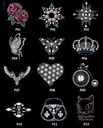 Rhinestone Design Patterns | <b>Wholesale</b>!! <b>New Fashion Hot</b> Fix Motif ...