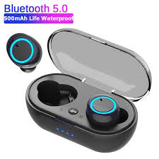 D10/<b>DT2</b> TWS <b>Bluetooth</b> Earphones Fingerprint Touch <b>Wireless</b> ...