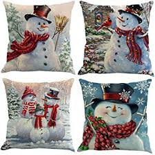 XIECCX Throw Pillow Covers Decorative Pillowcases <b>Christmas</b> ...