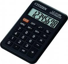 <b>Калькулятор карманный Citizen</b> LC-210N 8-разрядный — купить ...