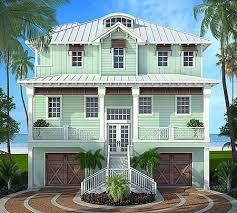 Stylish Beach House Plan   Florida Home Ideas   Pinterest   Beach    Stylish Beach House Plan   Florida Home Ideas   Pinterest   Beach House Plans  Beach Houses and House plans