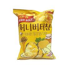 Honey Butter <b>Chip</b> 60g <b>1Pcs</b>, <b>Potato</b> Snack, HaiTai Honey Butter <b>Chip</b>