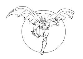 Small Picture Animated Batman Coloring Pages Batman Coloring Page to Print
