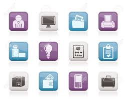 business and office equipment icons royalty stock photo business and office equipment icons vector icon set royalty cheap office supplies near me virtual