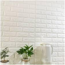 Plain Vertical <b>3d</b> PE Foam <b>Brick Wall Stickers</b>, Size: 70*77 Cm, Rs ...