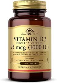 Vitamin D3 (Cholecalciferol) 25 mcg (1000 IU) Tablets ... - Amazon.com