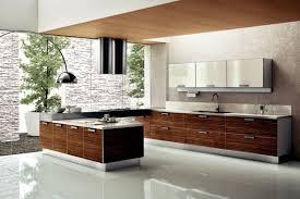 modern kitchen setup:  kitchen decor large size modern big open kitfchen design ideas with white ceramic flooring tile