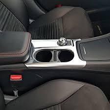 <b>Matte ABS Chrome</b> Cup Holder Cover <b>Trim</b> For Mercedes Benz A ...