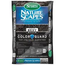 Scotts NatureScapes <b>2</b> cu. ft. <b>Classic Black Color</b> Enhanced Mulch ...
