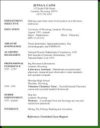 resume stylestargeted resume