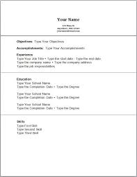 resume examples high school resume objectives example of resume for accounting picture sample resume no work experience high school students