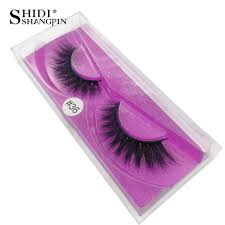 <b>SHIDISHANGPIN</b> 1 pair mink <b>eyelashes</b> natural long <b>3d mink lashes</b> ...
