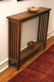 oak bedroom furniture home design gallery: hand made walnut hall table by fredric blum design custommade com