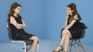 pitch perfect star anna kendrick interviews herself pitch perfect star anna kendrick interviews herself