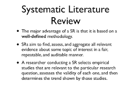 literature review outline SlidePlayer Systematic literature reviews   a  quot how to quot