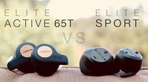 (New) <b>Jabra Elite</b> Active 65T vs <b>Elite Sport</b> True Wireless Earphones ...