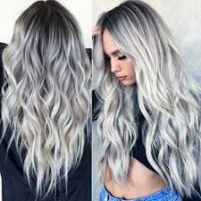 Gradient Large Wave Curls Afro Fashion Women's Mixed ... - Vova