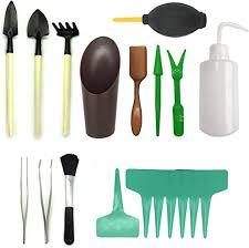 <b>21 Pcs Mini</b> Garden Tools Set, Pietydeko Miniature Planting ...