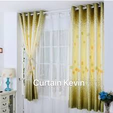 <b>Hot</b> Kevin <b>1PC</b> Home Decorated <b>New design</b> Silk Curtains Without ...
