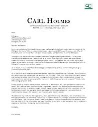 Marketing Cover Letter Template - Cover Letter Sample ... Sample Cover Letter Marketing: Marketing Cover Letter Examples Best ...