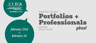 portfolios professionals plus iida mid america chapter and head to kc for an awesome opportunity to meet design professionals and improve your portfolio and presentation skills the career prep workshop will