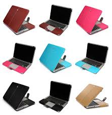 "PU <b>Leather</b> Laptop Sleeve Bag <b>Case Cover</b> for MacBook 12"" Air Pro ..."