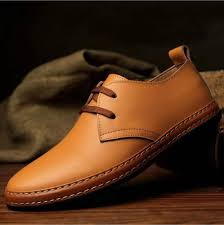 <b>NEW</b>-European-style-<b>Genuine</b>-<b>leather</b>-Shoes-<b>Mens</b>-oxfords-Casual ...
