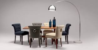 Tufted Dining Room Sets Dining Room Modern Set With Colorful Chair And Glass Table Also