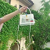 Adebie - Candy Fashion Women Summer <b>Clear</b> Handbag Rivet ...