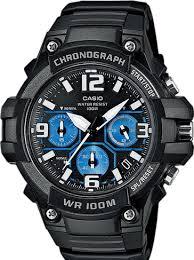 Купить <b>часы CASIO MCW</b>-<b>100H</b>-<b>1A2</b> по цене 5190 рублей в Time ...