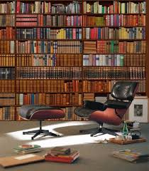 home library furniture ideas home library design wall bookshelves armchair reading corner buy home library furniture
